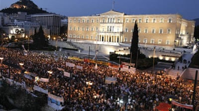 Greece passes austerity law