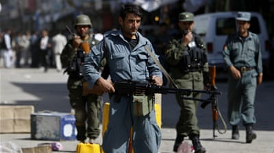 Police killed at Afghanistan checkpoint