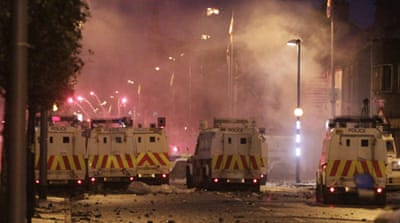 Second night of riots in Northern Ireland