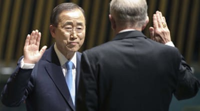Ban Ki-moon re-elected UN chief