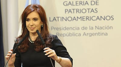 Argentine president to seek re-election