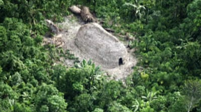 'Uncontacted' Amazon tribe found in Brazil