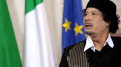 Eccentricities of an enigmatic Gaddafi