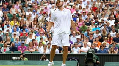 Shock defeat for Andy Roddick