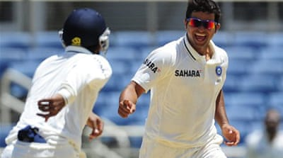 India wrap up first Test