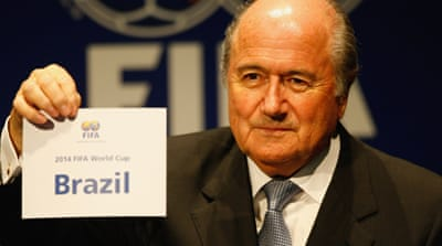 FIFA concerned over Brazil's progress