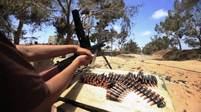 Gun runners supply Libya rebels
