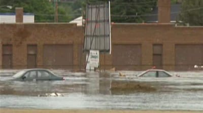 Thousands displaced by floods in North Dakota