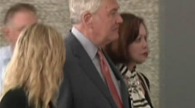 Former media baron Conrad Black back in jail
