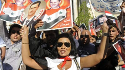 Lebanon's left splits over Syria