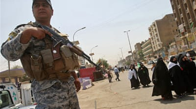 Deadly blast strikes Iraqi police station