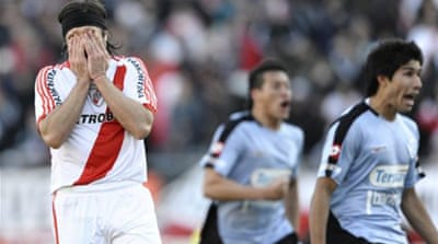 River Plate relegated for first time