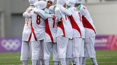 Iran became one of the leading critics of the ban after its team was disqualified from an Olympic qualifier last year [EPA]