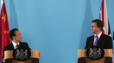 China and UK sign $2.2bn trade deals