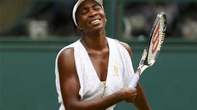 Williams sisters bow out of Wimbledon