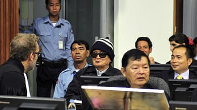 Four Khmer Rouge leaders go on trial