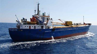Gaza flotilla ship 'sabotaged by divers'