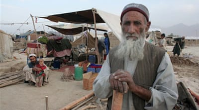 250,000 Afghans 'flee homes in two years'