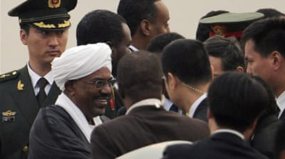 Sudan's Bashir in Beijing for China talks