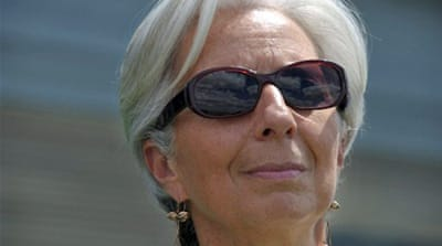 France's Lagarde named new IMF chief