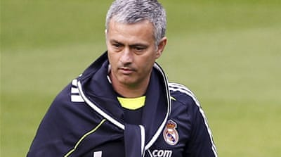 Mourinho suspended for eye poke