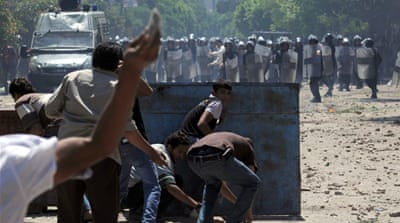 Fresh clashes in Cairo's Tahrir Square