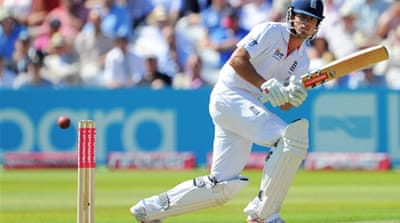 Cook inspires England recovery