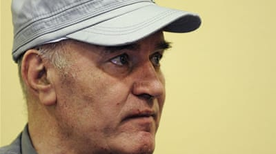 Where was the media hunt for Ratko Mladic?