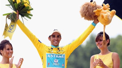 Contador positive despite doping case