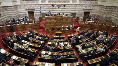 Greek parliament approves austerity programme
