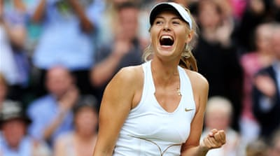 Wimbledon final for Sharapova