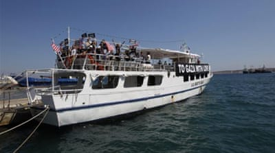 'The Audacity Of Hope' waits to sail for Gaza