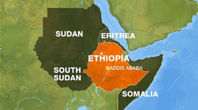 Ethiopia has tense relations with neighbouring Eritrea and Somalia