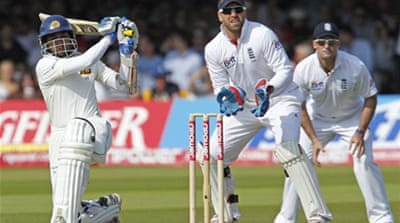 Dilshan century makes England toil