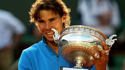 Nadal seals record-tying sixth French title