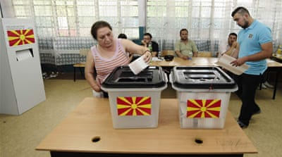 Ruling coalition claims Macedonia poll win