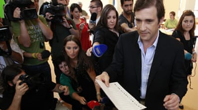 Portugal's centre-right wins election