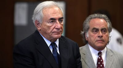 Strauss-Kahn pleads not guilty to sex charges