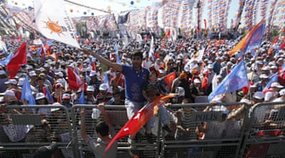 Rivals rally ahead of crucial Turkey vote