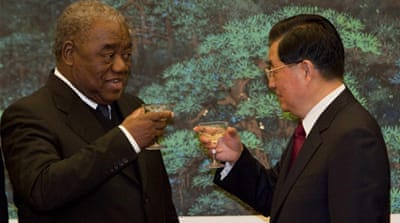 China's changing tone on African investment