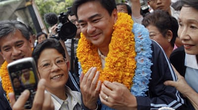 Thai PM slams rivals' Thaksin 'whitewash'