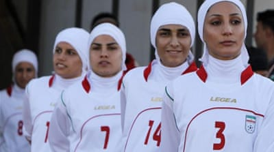 Iran's women footballers: Let them play