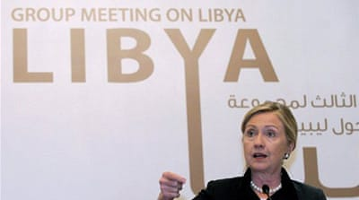 Clinton says 'Gaddafi's days are numbered'