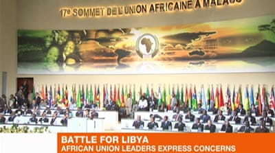 Libya casts shadow over AU summit