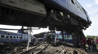 Two India rail incidents leave dozens dead