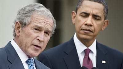 Obama chains himself to Bush terror policies