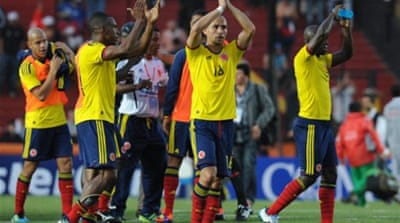 Colombia first to reach Copa America quarters