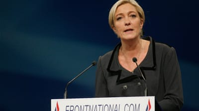 France's Le Pen sizes up her rivals