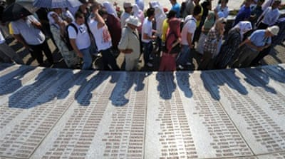 Bosnians bury Srebrenica massacre victims