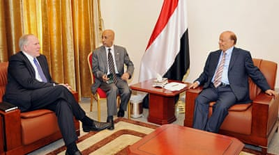 US envoy meets Yemen interim leader